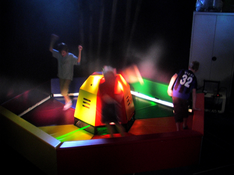 LaserJump