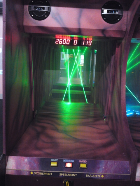 LaserSwing